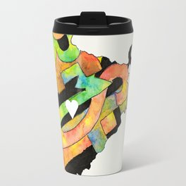 Prem Sewa Indian Outline by Carli Travel Mug