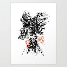 3 of Clubs Art Print