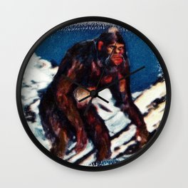 Bigfoot is Real Wall Clock