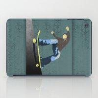 skateboard iPad Cases featuring Skateboard 4 by Aquamarine Studio
