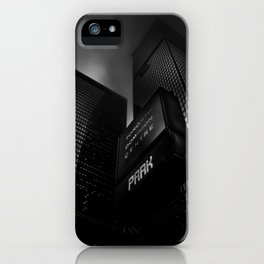 Downtown Toronto Fogfest No 16 iPhone Case