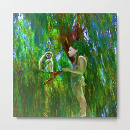 Jungle Connection Metal Print