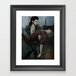 At Mothertide Altar Framed Art Print