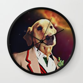 THE 5TH DOGTOR Wall Clock