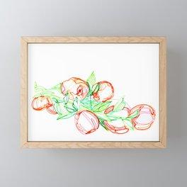 Bunch of Oranges Framed Mini Art Print