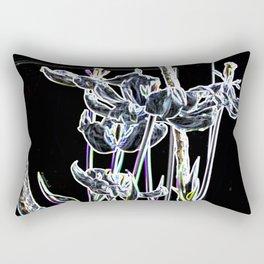 Pop Art Digital Photo Tulips jjhelene design Rectangular Pillow