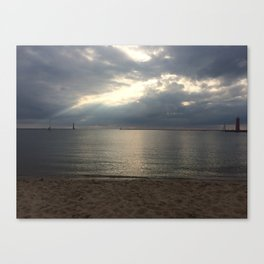 Muskegon- Calm After the Storm Canvas Print