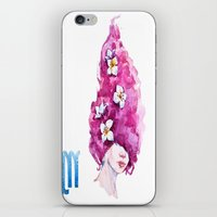 virgo iPhone & iPod Skins featuring Virgo by Aloke Design