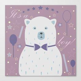 Cute Bear Canvas Print