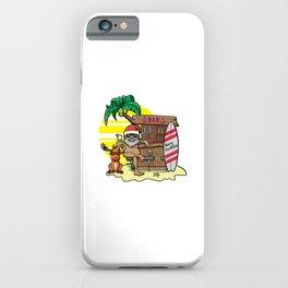Mele Kalikimaka Haka Dance Maori Christmas Hawaii Xmas Gift iPhone Case