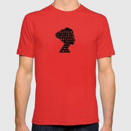 silhouette - scattered dreams T-shirt