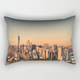 manhattan skyline Rectangular Pillow