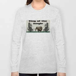 The King of The Jungle Long Sleeve T-shirt