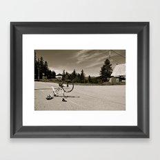Misadventures Framed Art Print