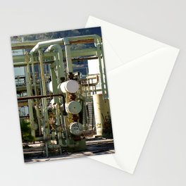 Oil Refinery In Ventura Stationery Cards