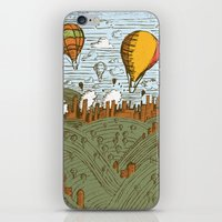 balloons iPhone & iPod Skins featuring BALLOONS by Matthew Taylor Wilson