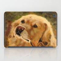 golden retriever iPad Cases featuring Golden Retriever by Tidwell