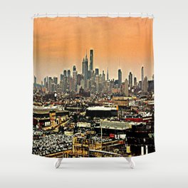 Philly Spread Shower Curtain