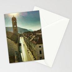 Sunrise over Old Dubrovnik Stationery Cards