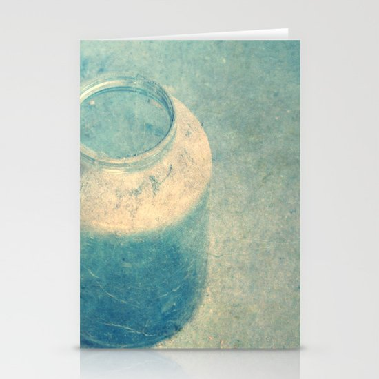 old glass Stationery Cards