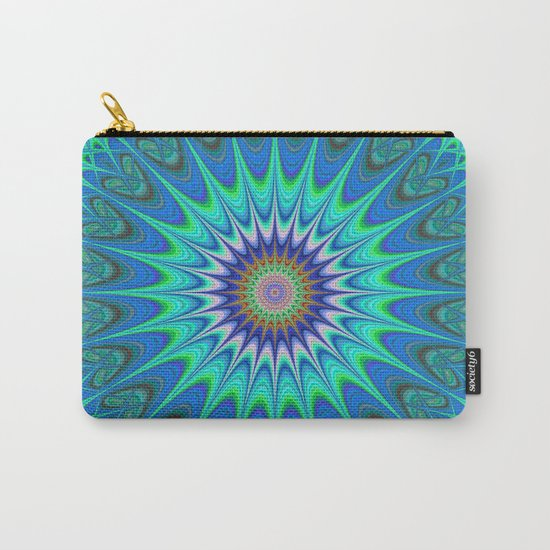 Cool mandala Carry-All Pouch