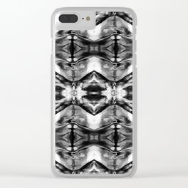 Chemical Imbalance 1 Clear iPhone Case