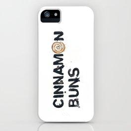 Favourite Things - Cinnamon Bun iPhone Case