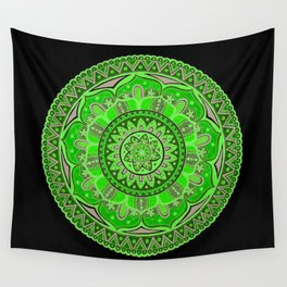 Mandala Art Wall Tapestry