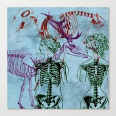 Our Young Bones Canvas Print