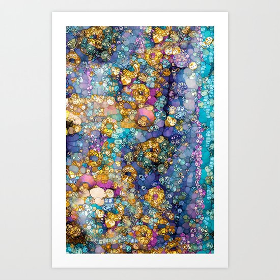 Magic Glitter Art Print