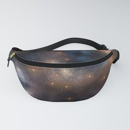 Awash With Stars ,Galaxy Blue Planet Fanny Pack