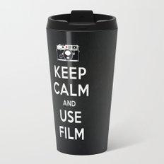 Keep Calm And Use Film Travel Mug