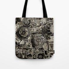 Electric Maze Tote Bag
