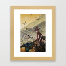 Land Unfulfilled Framed Art Print
