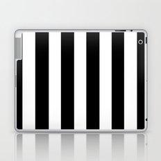 Bold Stripes (Black & White) Laptop & iPad Skin