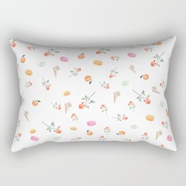 ROSES & MACARONS Rectangular Pillow