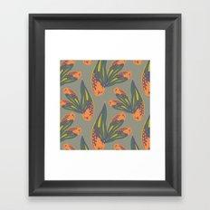 pina flower Framed Art Print