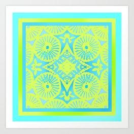 tropicana quicksand Art Print