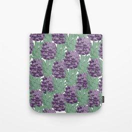 Purple Pineapples Tote Bag