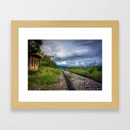 La Quemada Framed Art Print