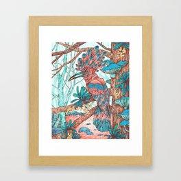 River Hoopoe Framed Art Print