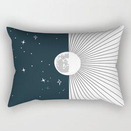 Night and Day Rectangular Pillow