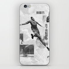 Didier Drogba Underwater Highlight Tape DVD-RW iPhone & iPod Skin