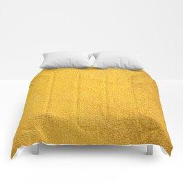 Yellow background Comforters