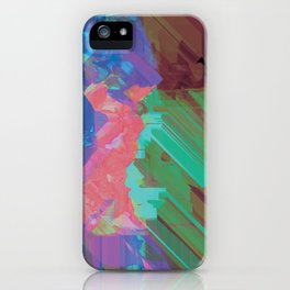 Glitchy 3 iPhone Case