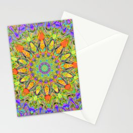 Abstract Flower AAA QQ YYY Stationery Cards