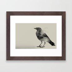 Raven Sky Framed Art Print