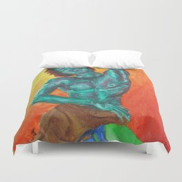 The Color Of Music Duvet Cover