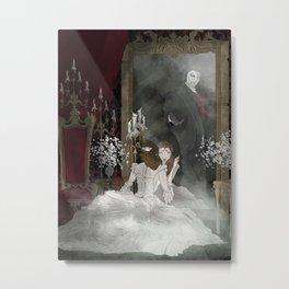 The Mirror Metal Print