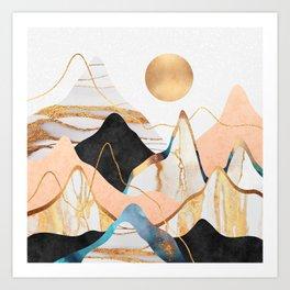 Mountainscape 3 Art Print